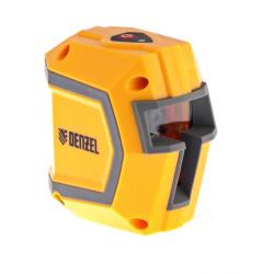 Уровень лазерный Denzel LX1, 10 м ± 0,5 мм/1 м, 635 нм, 1 верт. 1 гор. плоскости, резьба 1/4 / 35055